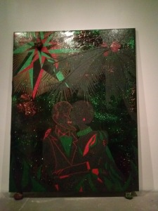 """Chris Ofili"" at the New Museum, NYC (11/2/14)"