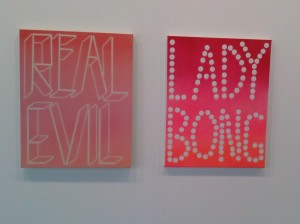Scott Reeder paintings at Nathalie Karg (6/10/15)
