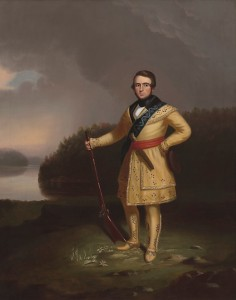 George Caleb Bingham (1811-1879) Portrait of Leonidas Wetmore, 1839-40 Oil on canvas US Department of State (The Benjamin Franklin State Dining Room) 1993.0012