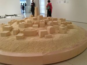 K. Attia, untitled (Ghardaia), 2009; at the Guggenheim Museum
